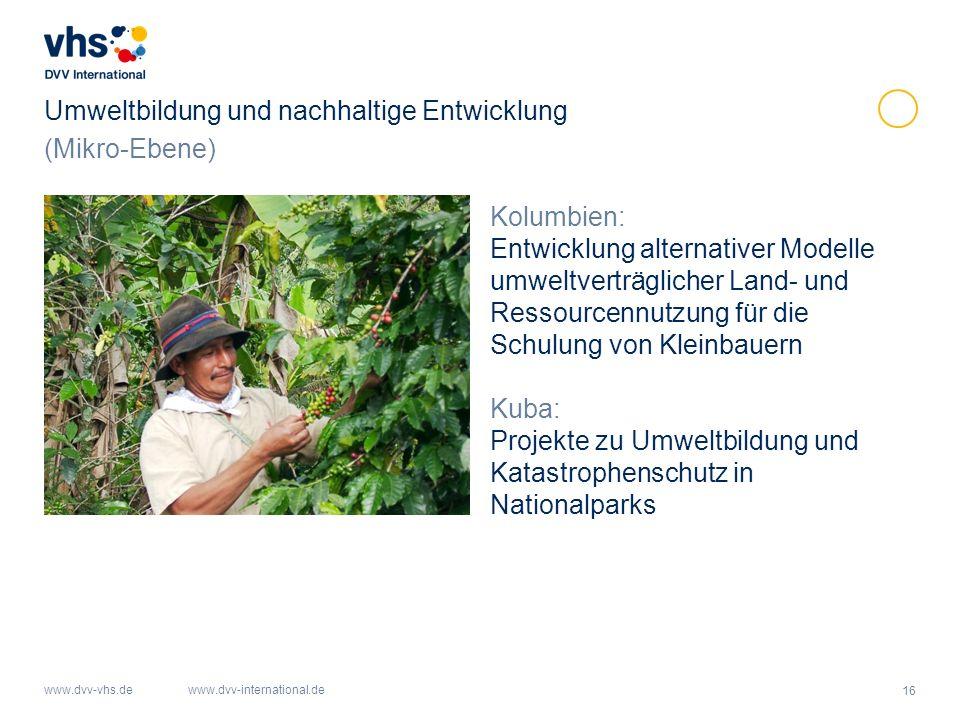 Umweltbildung und nachhaltige Entwicklung