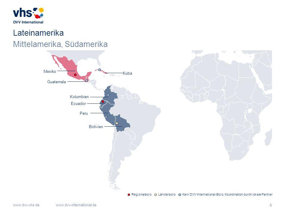 Mittelamerika, Südamerika