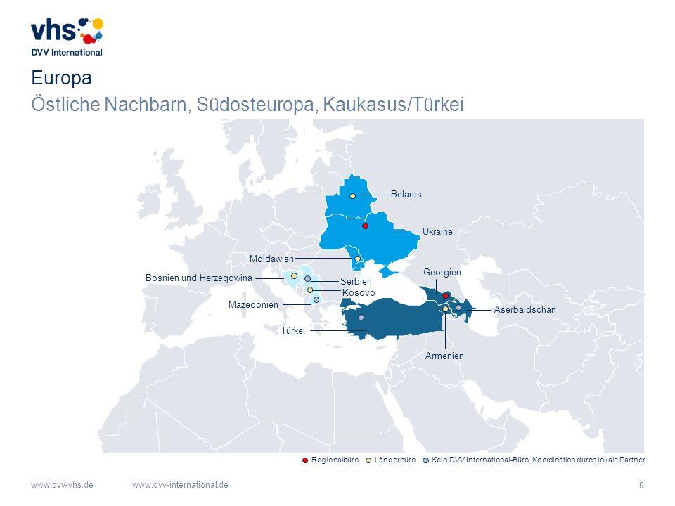 Östliche Nachbarn, Südosteuropa, Kaukasus/Türkei
