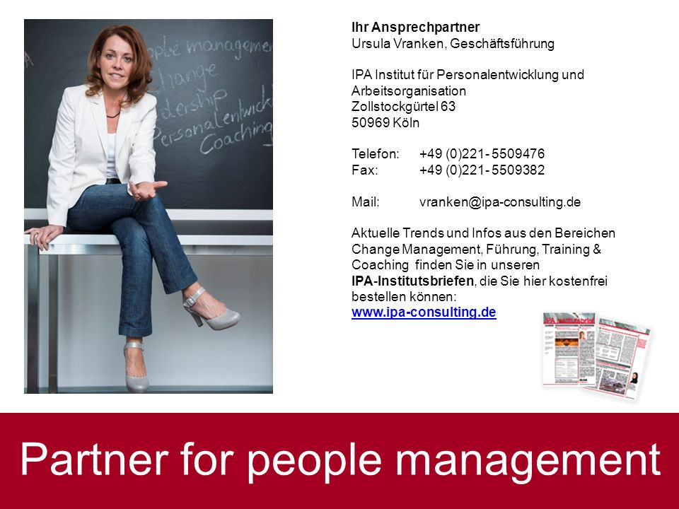 Partner for people management