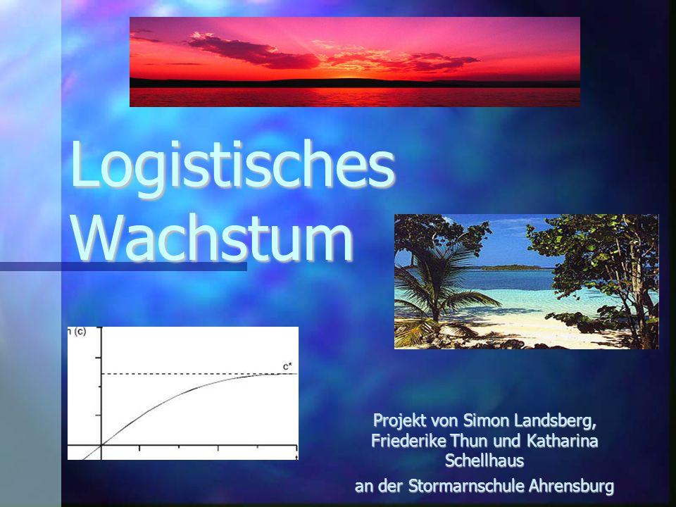 Logistisches Wachstum