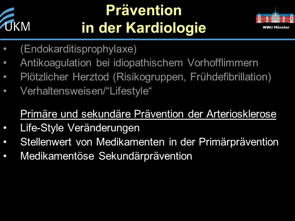 Prävention in der Kardiologie