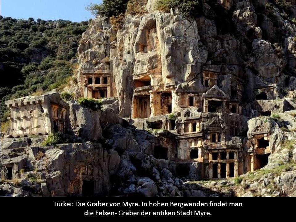 Türkei: Die Gräber von Myre