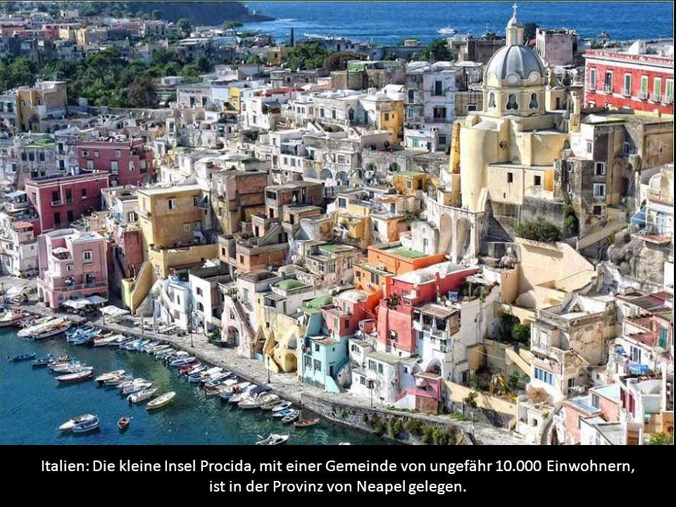 Italien: Die kleine Insel Procida, mit einer Gemeinde von ungefähr 10