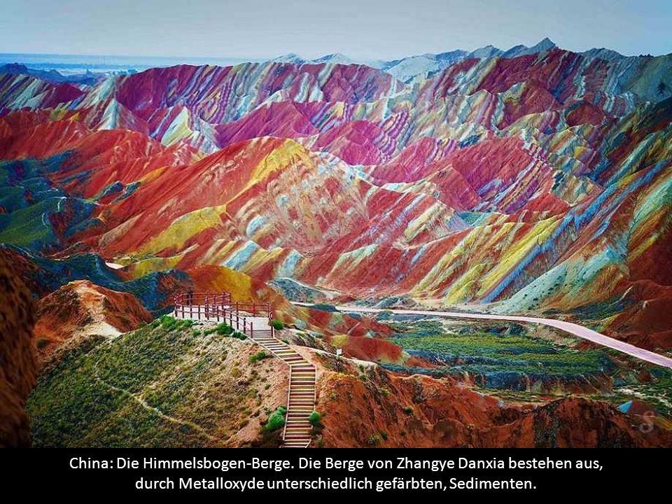 China: Die Himmelsbogen-Berge