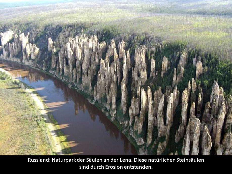 Russland: Naturpark der Säulen an der Lena