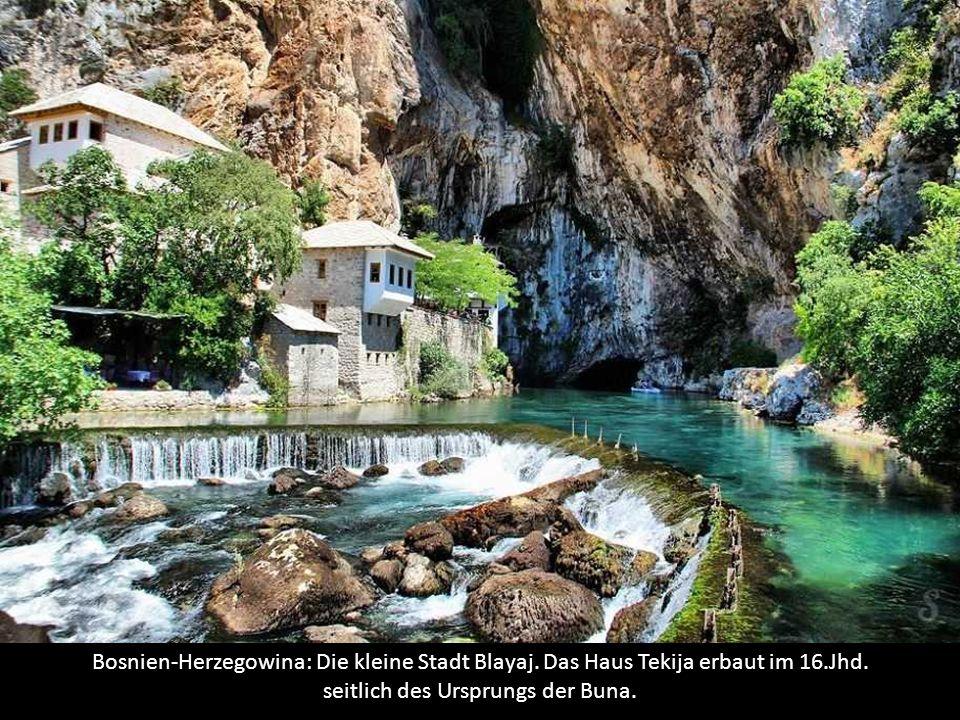 Bosnien-Herzegowina: Die kleine Stadt Blayaj