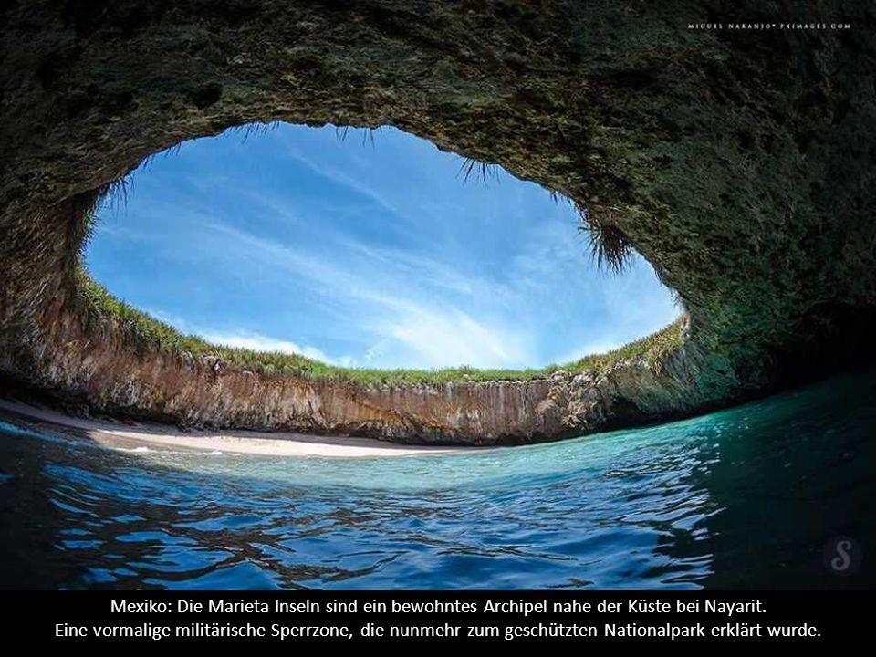 Mexiko: Die Marieta Inseln sind ein bewohntes Archipel nahe der Küste bei Nayarit.
