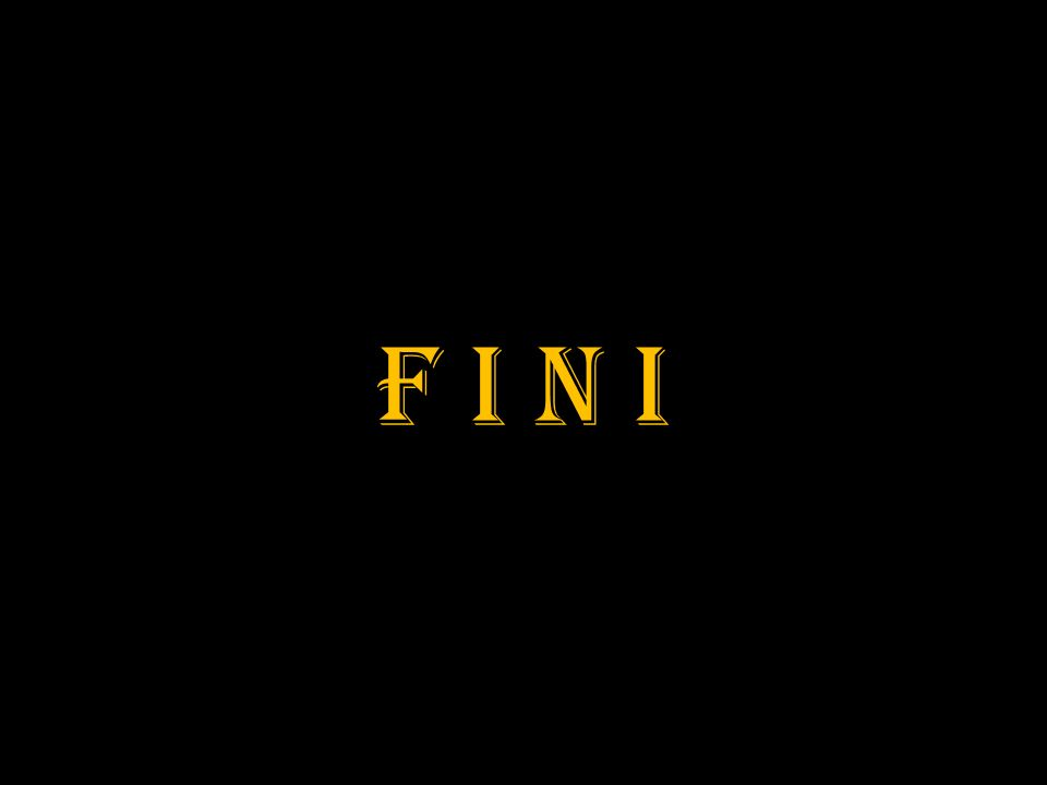 F I N I