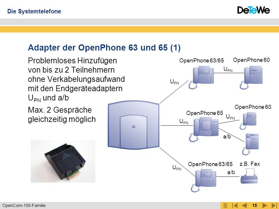 Adapter der OpenPhone 63 und 65 (1)