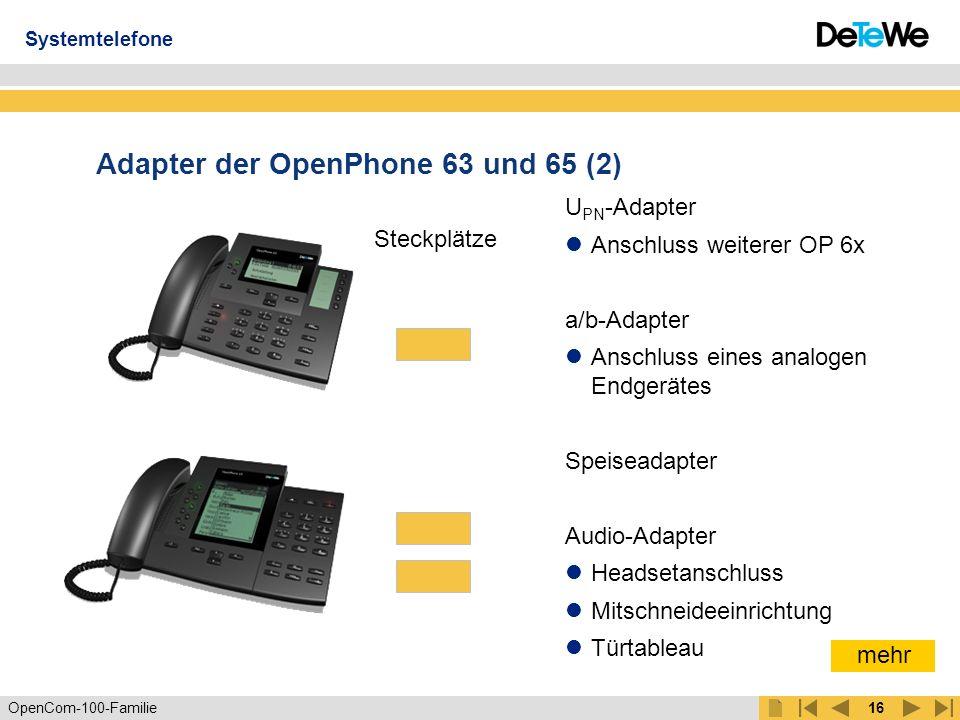 Adapter der OpenPhone 63 und 65 (2)