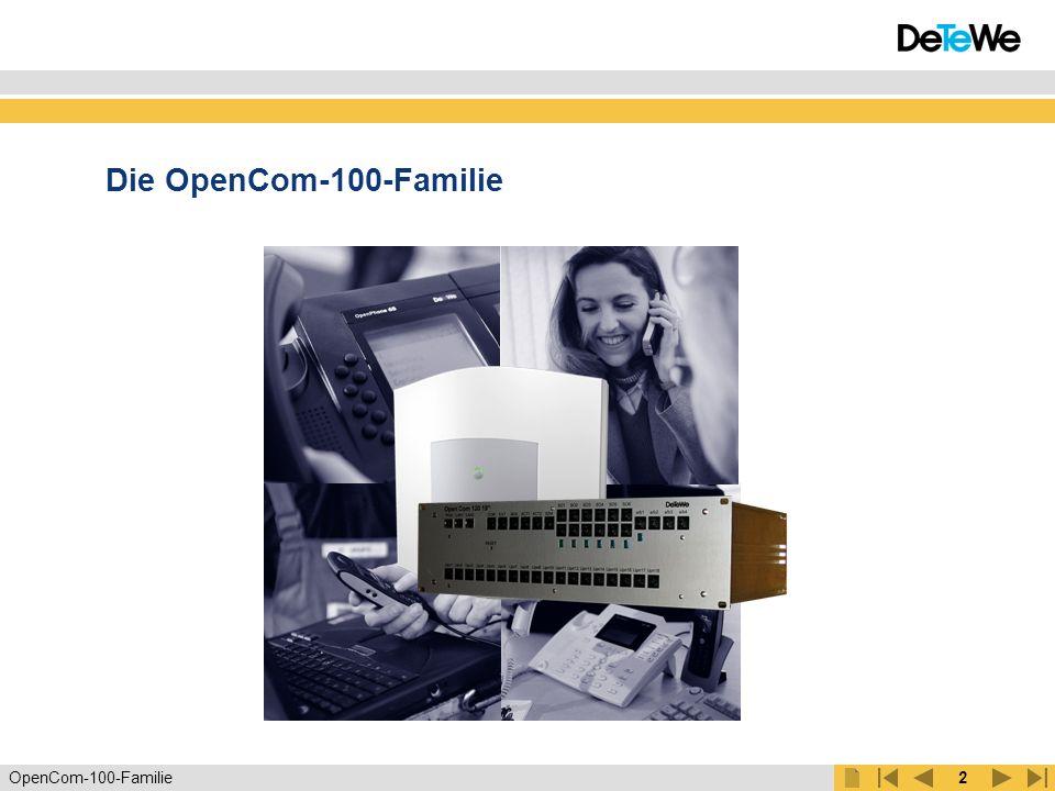 Die OpenCom-100-Familie