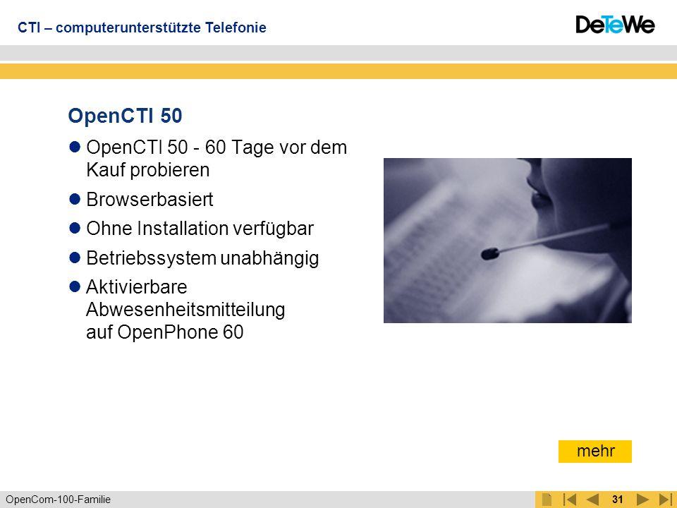 OpenCTI 50 OpenCTI 50 - 60 Tage vor dem Kauf probieren Browserbasiert