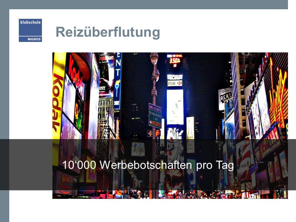 10'000 Werbebotschaften pro Tag