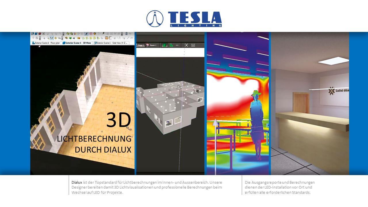 3D LICHTBERECHNUNG DURCH DIALUX