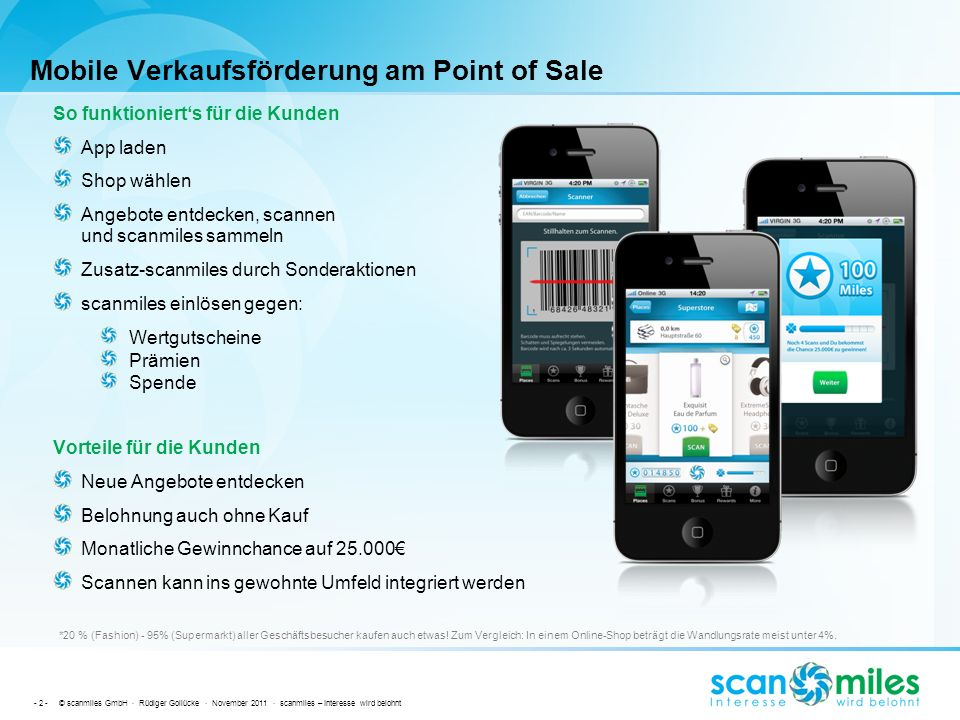 Mobile Verkaufsförderung am Point of Sale