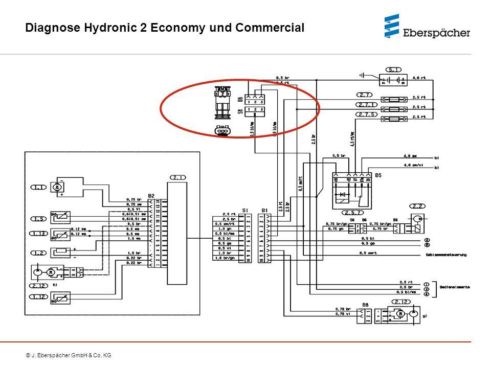 Diagnose Hydronic 2 Economy und Commercial
