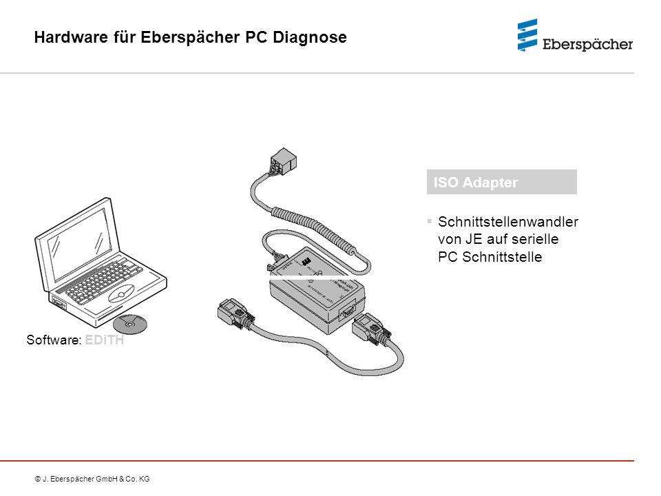 Hardware für Eberspächer PC Diagnose