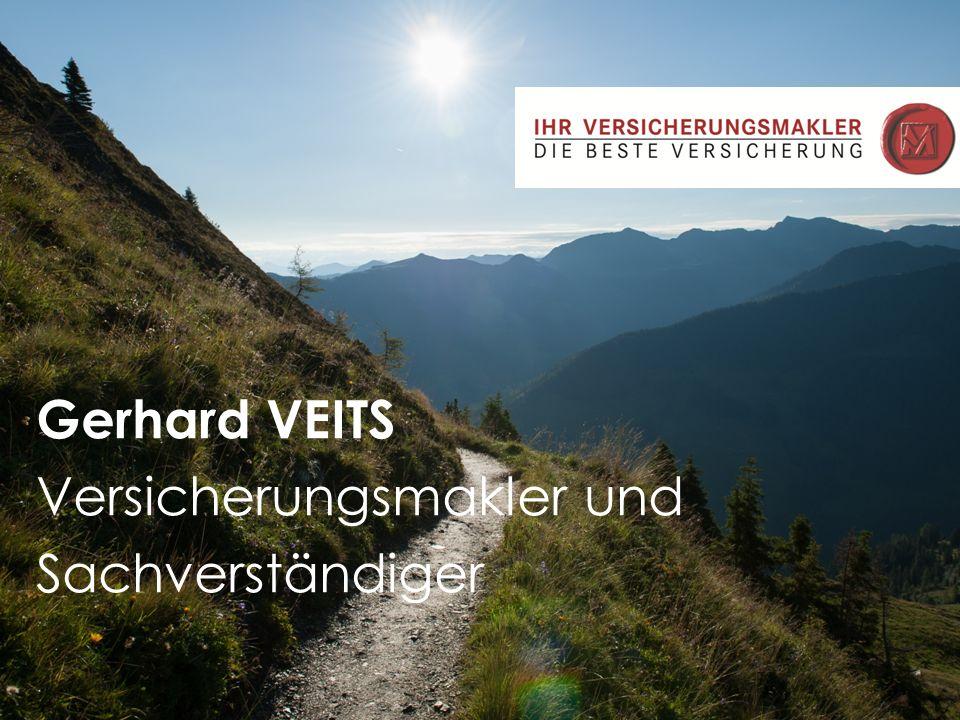 Gerhard VEITS Versicherungsmakler und Sachverständiger
