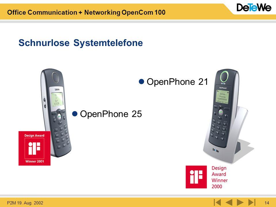 Schnurlose Systemtelefone