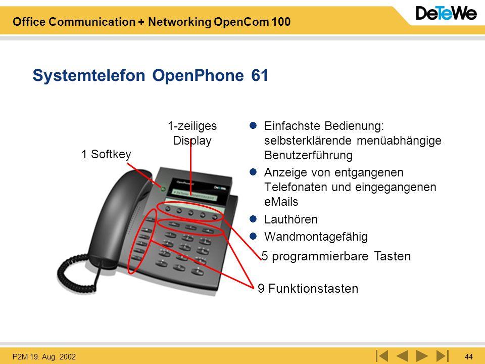 Systemtelefon OpenPhone 61