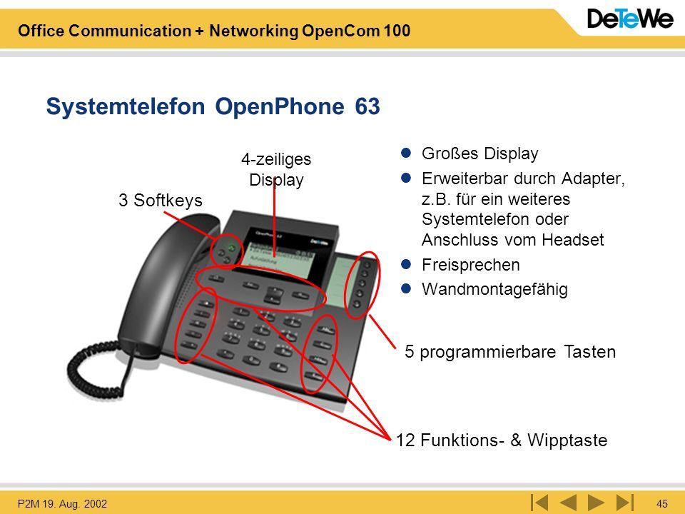 Systemtelefon OpenPhone 63