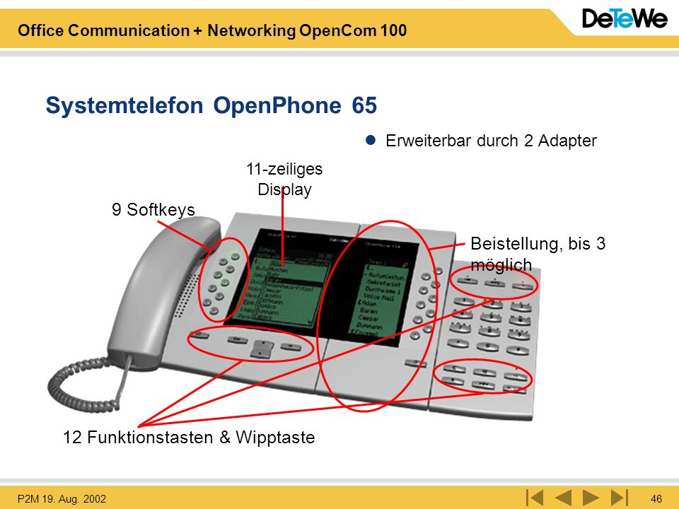 Systemtelefon OpenPhone 65
