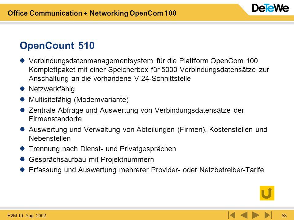 OpenCount 510