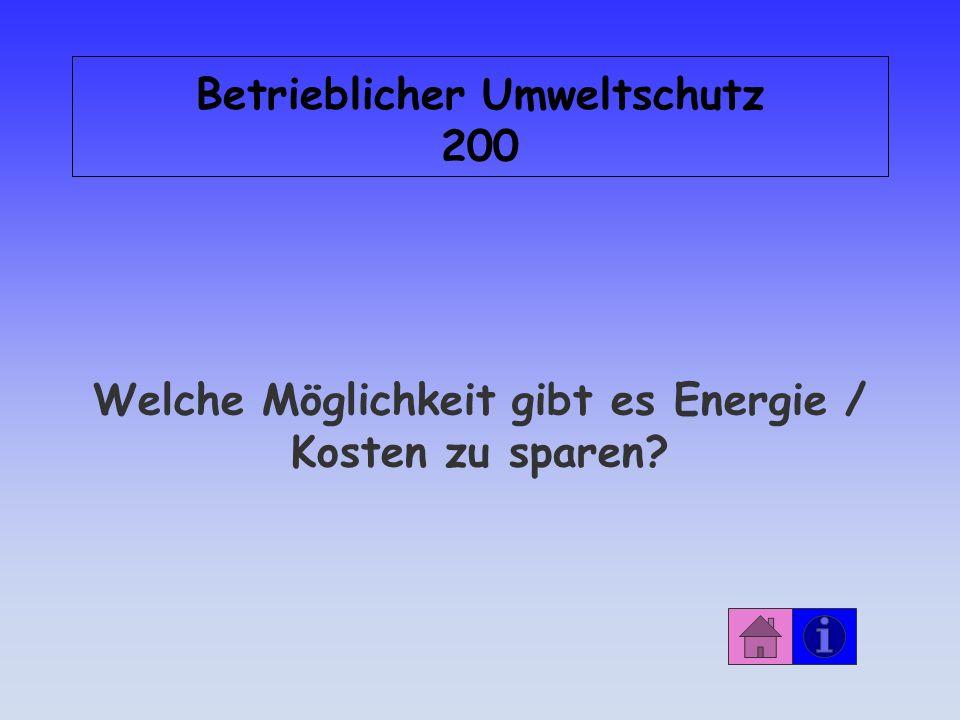 Betrieblicher Umweltschutz 200