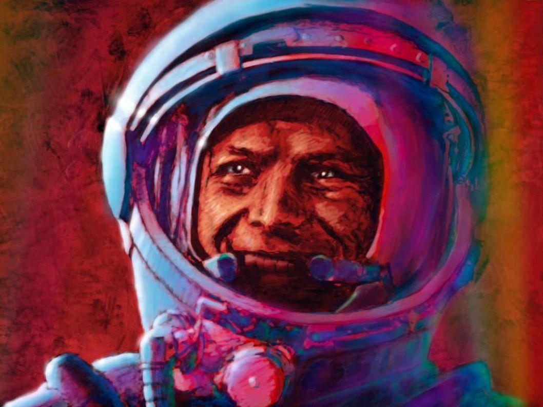 Zum Einstieg zeige Ihnen vier meiner Space Art Bilder