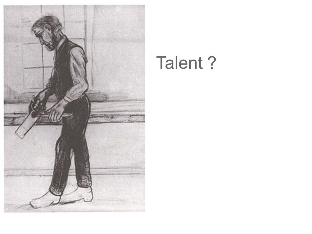 Talent Hat dieser Zeichner Talent Ich sehe hier kein Talent.