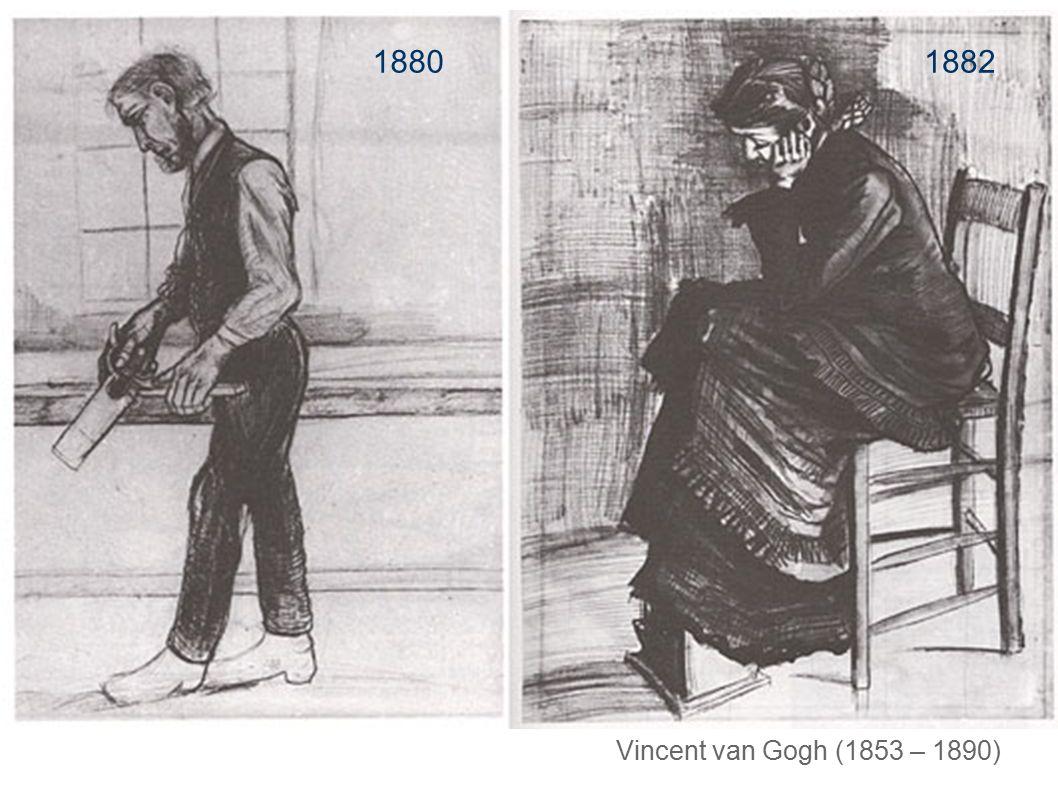 1880 1882. Vincent van Gogh wurde zum Mitbegründer der modernen Malerei.