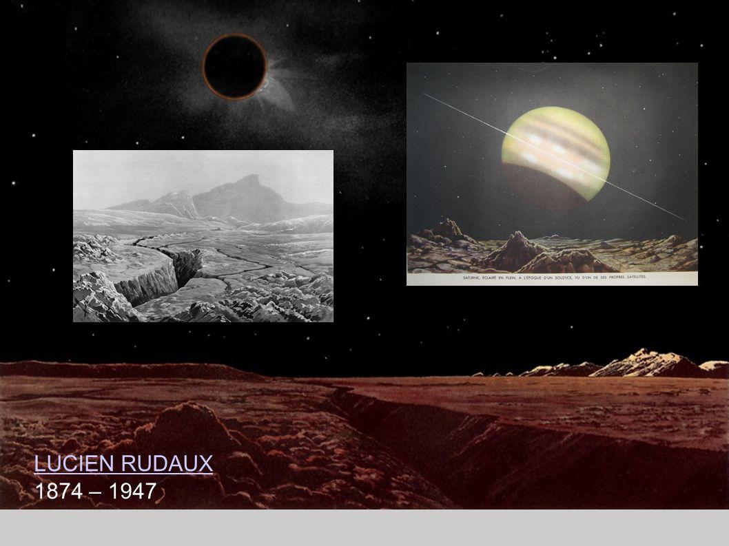 Aber schon früher gab es in populärwissenschaftlichen Astronomie-Bücher Bilder von Planetenlandschaften.