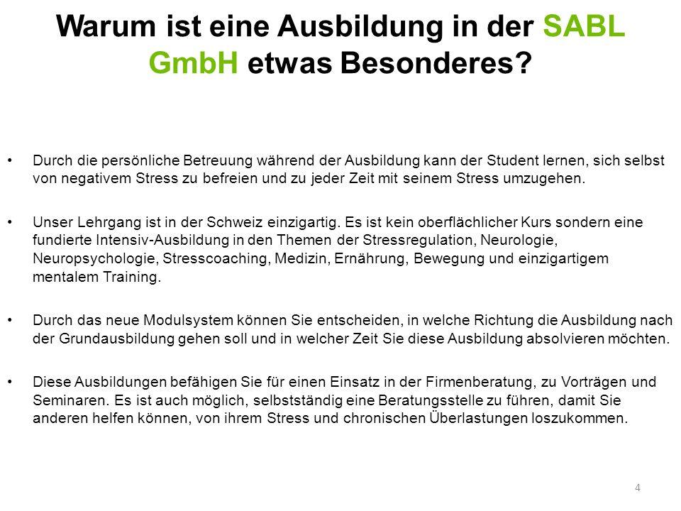 Warum ist eine Ausbildung in der SABL GmbH etwas Besonderes