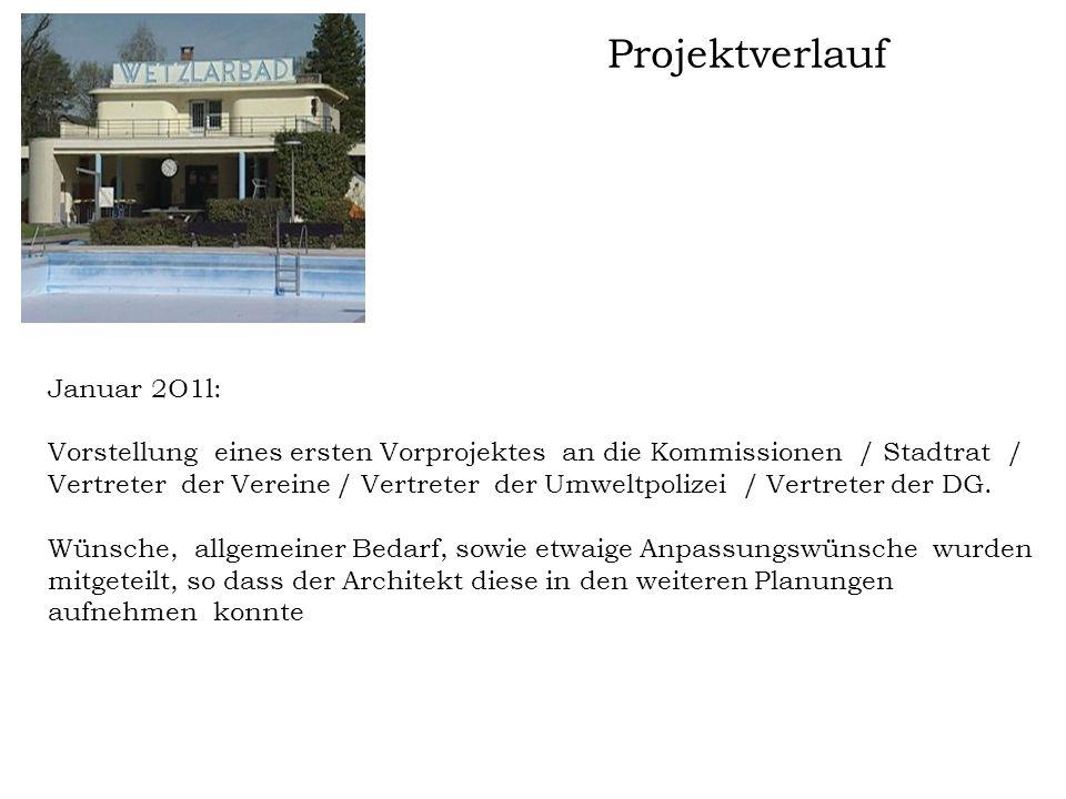 Projektverlauf Januar 2O1l: