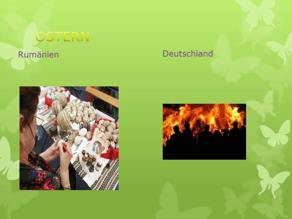 OSTERN Rumänien Deutschland
