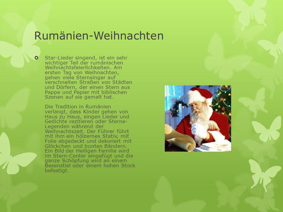 Rumänien-Weihnachten