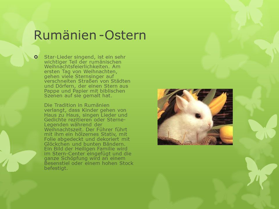 Rumänien -Ostern