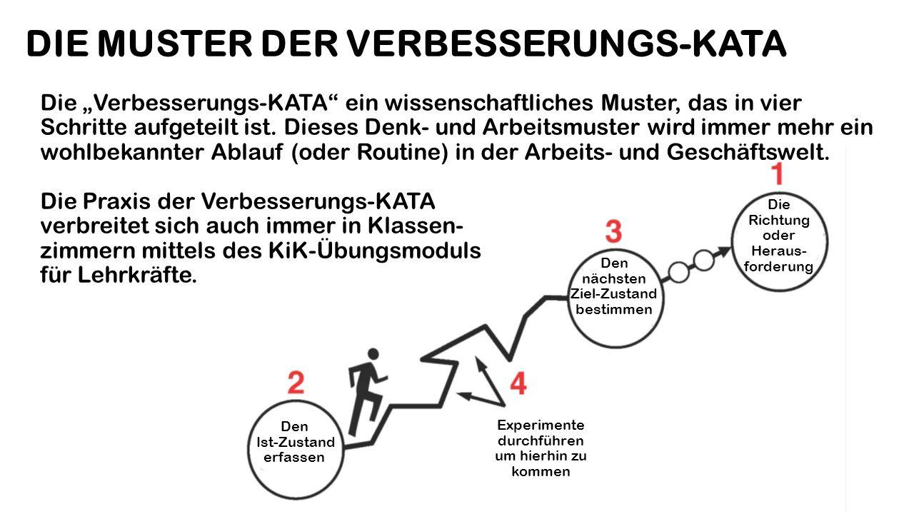 DIE MUSTER DER VERBESSERUNGS-KATA