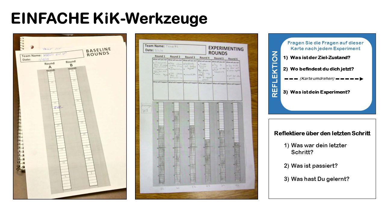 EINFACHE KiK-Werkzeuge