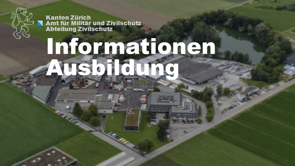 Informationen Ausbildung