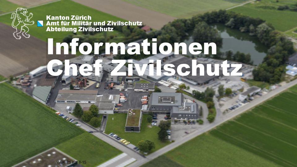 Informationen Chef Zivilschutz