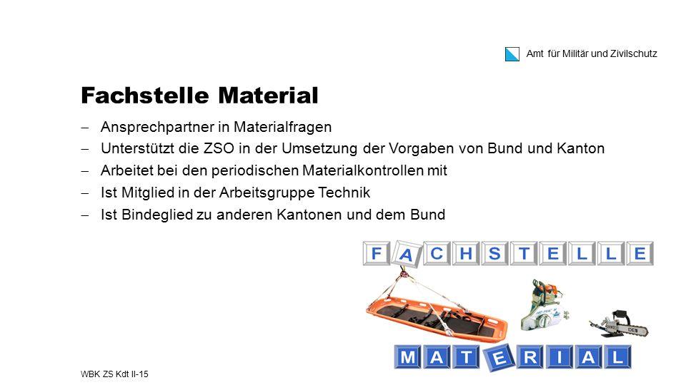 Fachstelle Material Ansprechpartner in Materialfragen