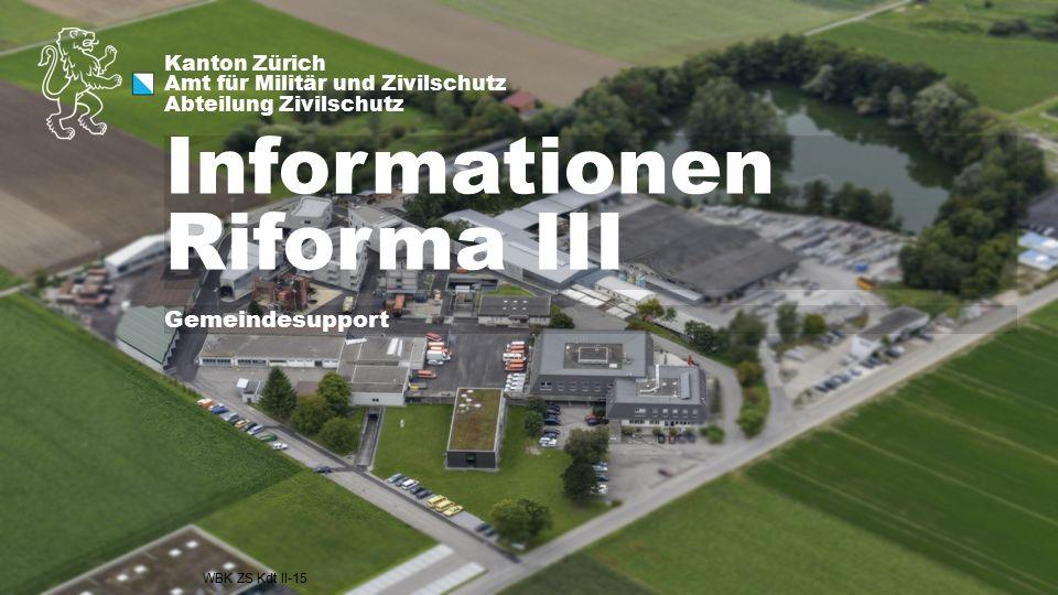 Informationen Riforma III
