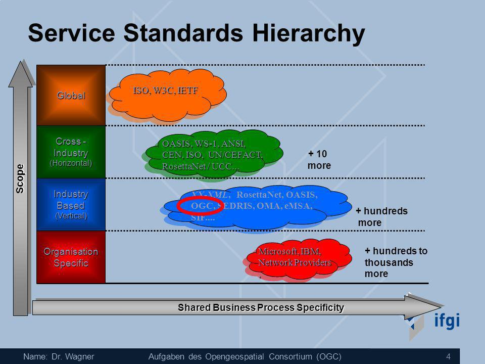 Service Standards Hierarchy