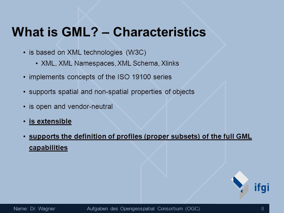 What is GML – Characteristics