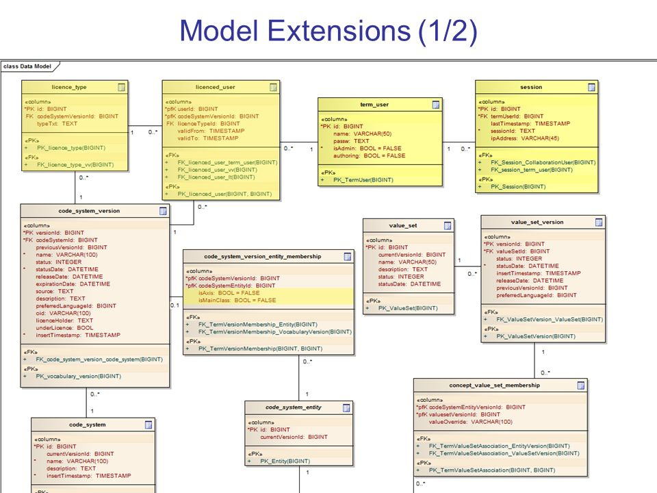 Model Extensions (1/2)
