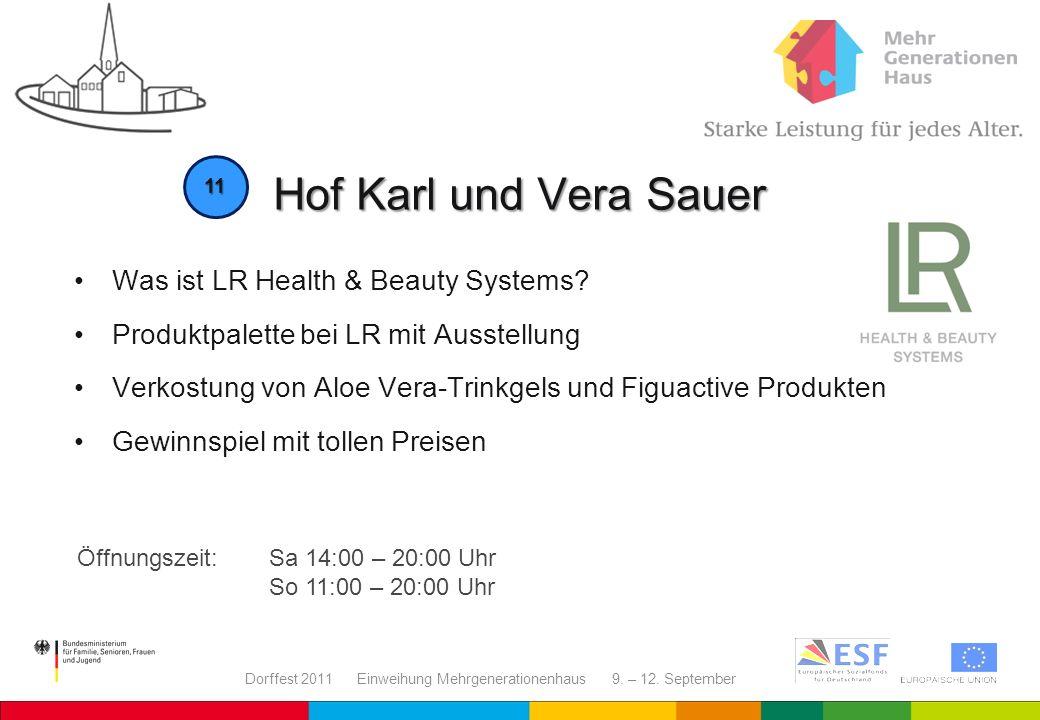 Hof Karl und Vera Sauer Was ist LR Health & Beauty Systems
