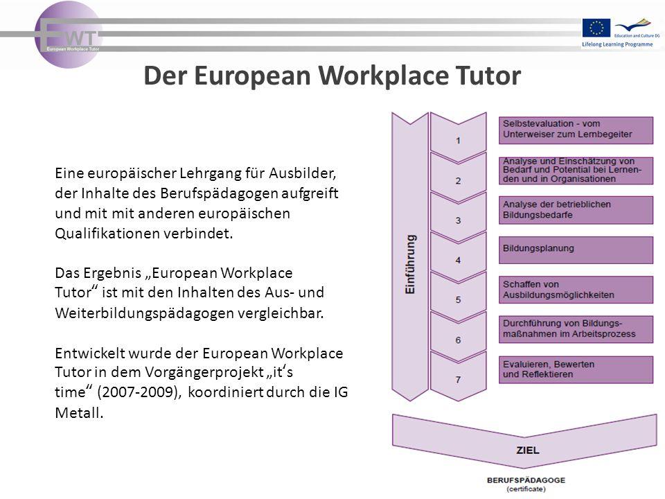 Der European Workplace Tutor