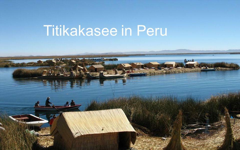 Titikakasee in Peru